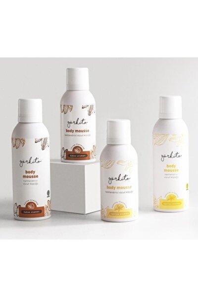 Vanilya Aromalı Vücut Köpüğü (200 ml) + Kakao Aromalı Vücut Köpüğü (100 ml)