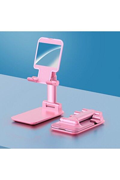 Masa Üstü Telefon & Tablet Standı Kademeli Yükseklik Ayarlı Telefon Tutucu
