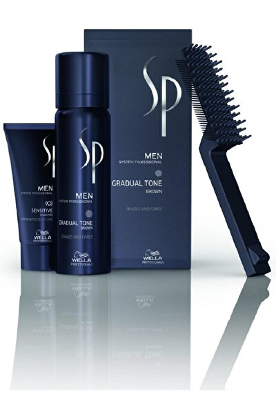 Sp Men Pigment Mousse Gradual Tone Brown Kahve 60ml
