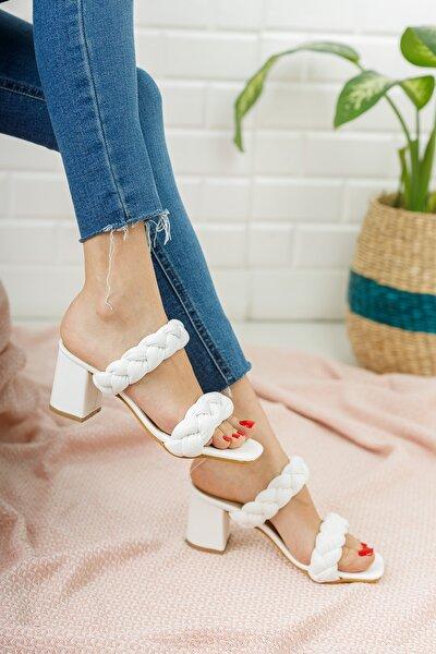 Kadın Klasik Topuklu Terlik Md1050-122-0001