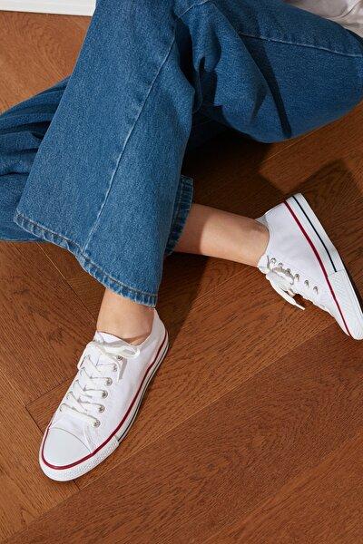 Beyaz Kadın Sneaker TAKSS21SN0008