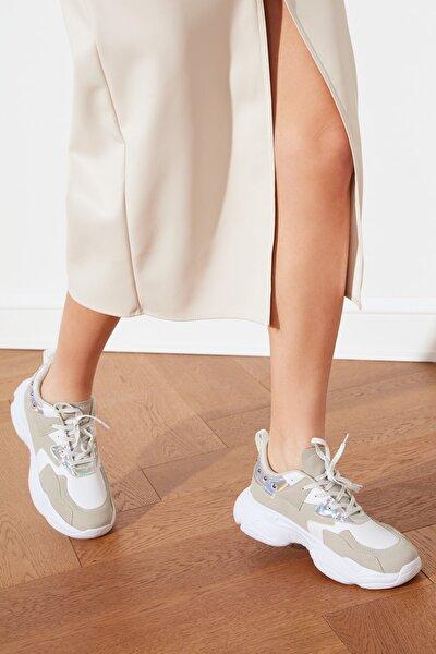 Beyaz Kadın Sneaker TAKSS21SN0009