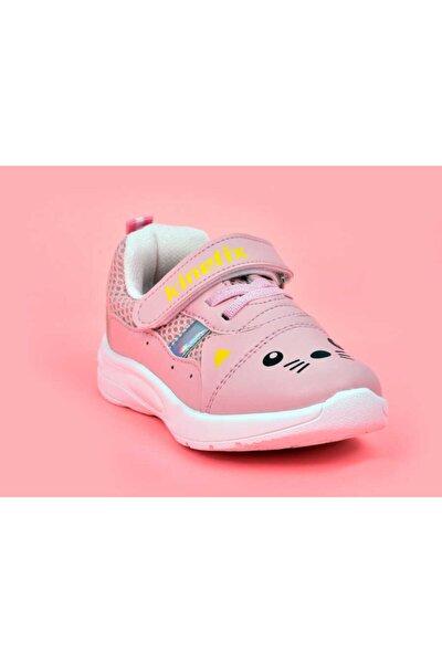 Kız Çocuk Pembe Spor Ayakkabı -21y