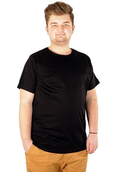 Tshirt Bisiklet Yaka Basic 20031 Siyah