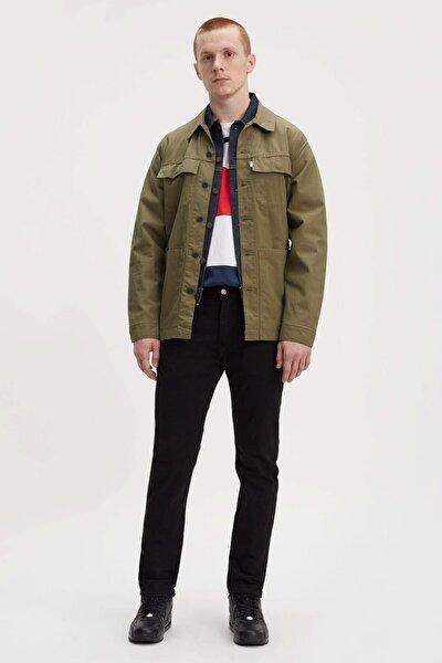 Erkek Siyah Straight Jeans 29507-0031