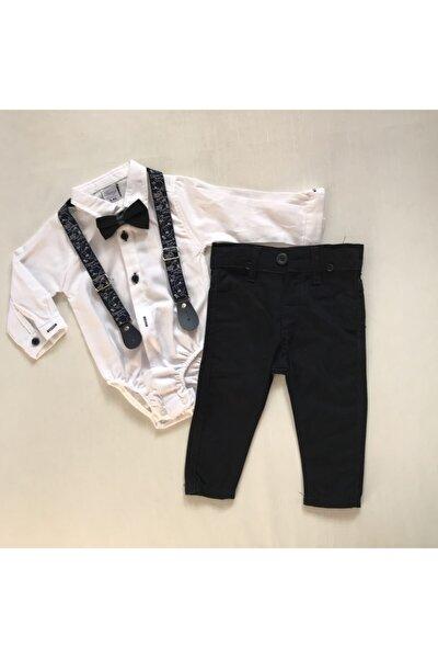 Erkek Çocuk Zıbın Gömlek Pantolon Takım