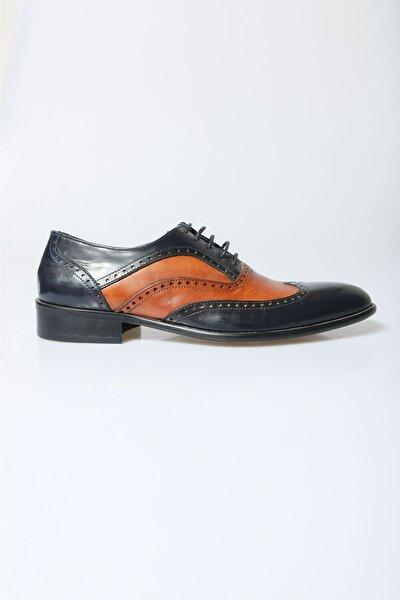 Erkek Taba Lacivert Klasik Ayakkabı 13-5238