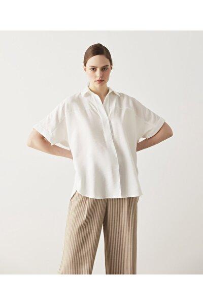 Kadın Pile Detaylı Bluz