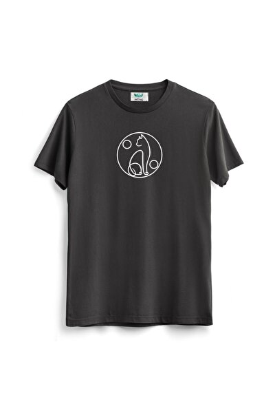 Antrasit Cat T-shirt