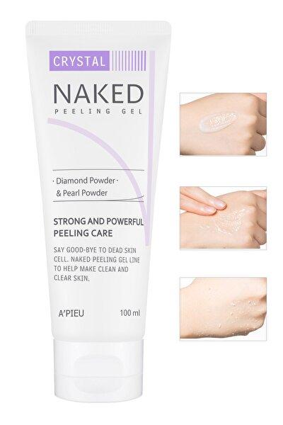 Elmas Tozu İçeren Güçlü Peeling Jeli - A'PIEU Naked Peeling Gel (Crystal) 100ml 8806185782630
