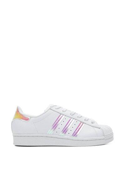Superstar Kadın Beyaz Spor Ayakkabı FV3139
