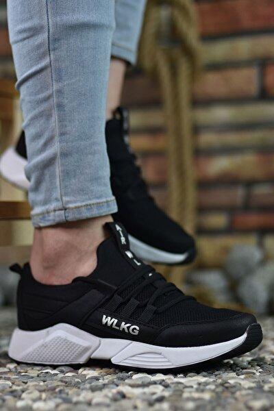 Siyah Beyaz Erkek Sneaker