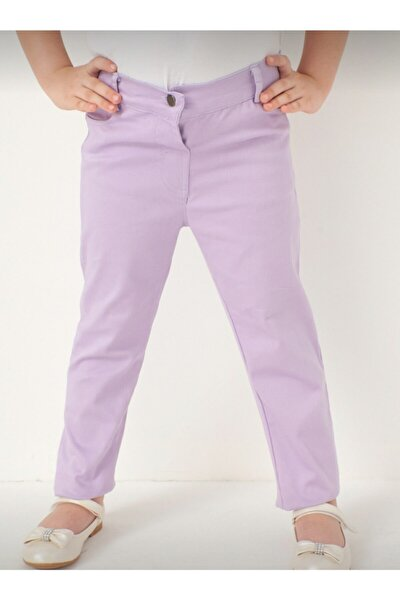 Kız Çocuk Mor Pantolon