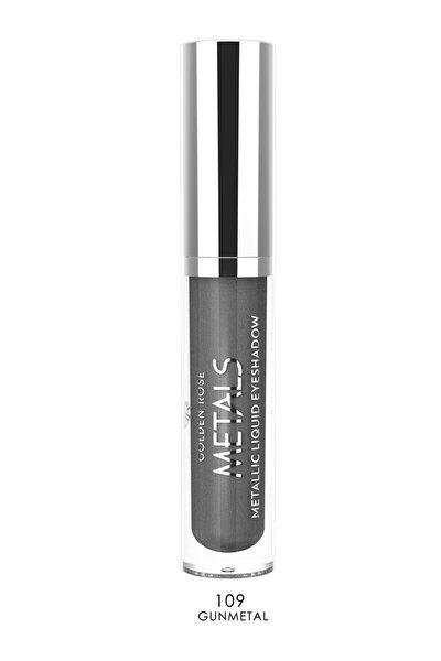 Likit Metalik Göz Farı - Metals Metallic Liquid Eyeshadow No: 109