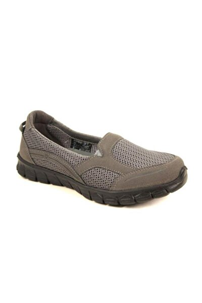 Kadın Gri Spor Ayakkabı 61015