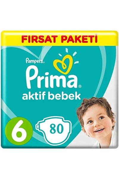 Bebek Bezi 6 Beden-numara Xlarge 13-18 Kg Fırsat Paketi 80 Adet