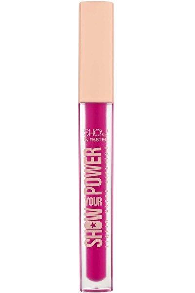 Show by Pastel - Show Your Power Liquid Matte Lipstick No: 608