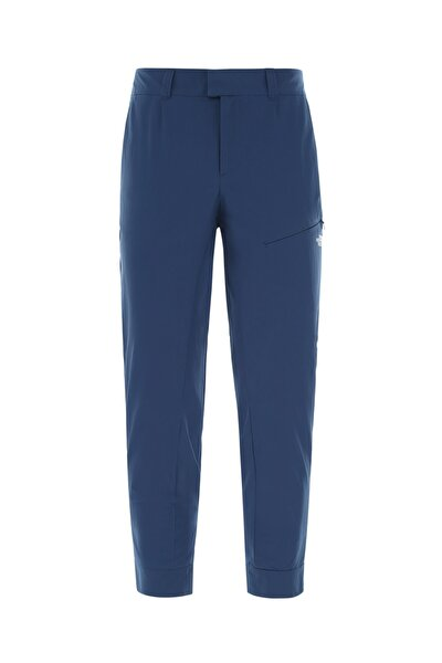 INLUX CROPPED KADIN OUTDOOR PANTOLON BLUE WING TEAL-TNF WHITE