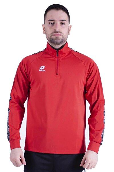 Antreman Kırmızı Sweatshirt Eşofman Üst