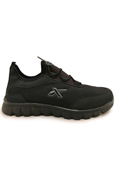 Ortopedik Taban Outdoor Siyah Erkek Günlük Spor Ayakkabı