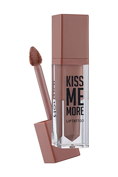 Kiss Me More Lip Tattoo Açık Pembe Nude Ruj 002 8690604572823