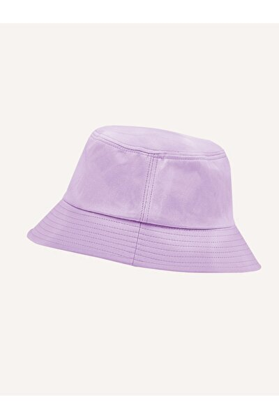 Lila Kova Yazlık Şapka Lilac Bucket Hat