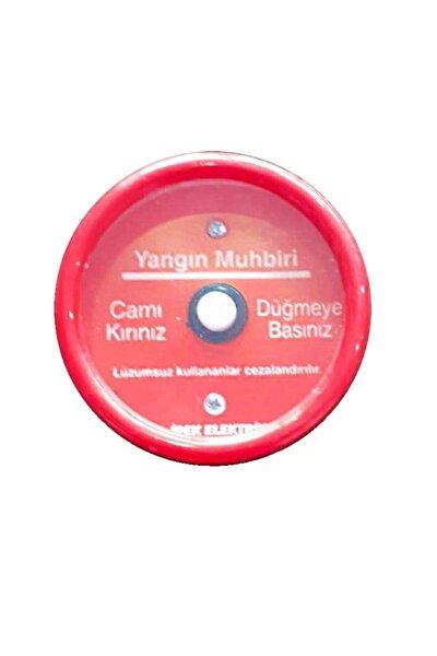 Yangın Alarm Ikaz Butonu 220v Yuvarlak Klasik Model