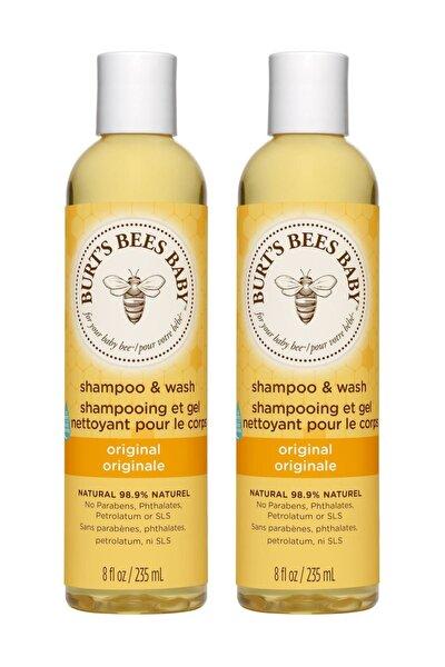 Bebek Saç Ve Vücut Şampuanı - Baby Bee Shampoo Body Wash X 2 235 Ml
