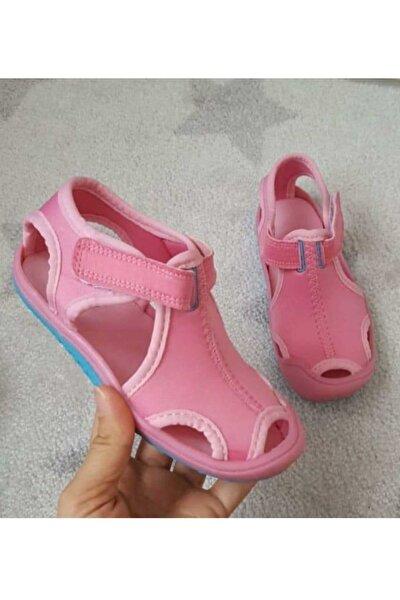 Kız Bebek Pembe Sandalet Ayakkabı