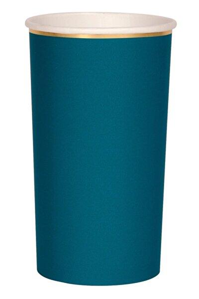 Koyu Deniz Mavisi Bardak (l) (8'li)