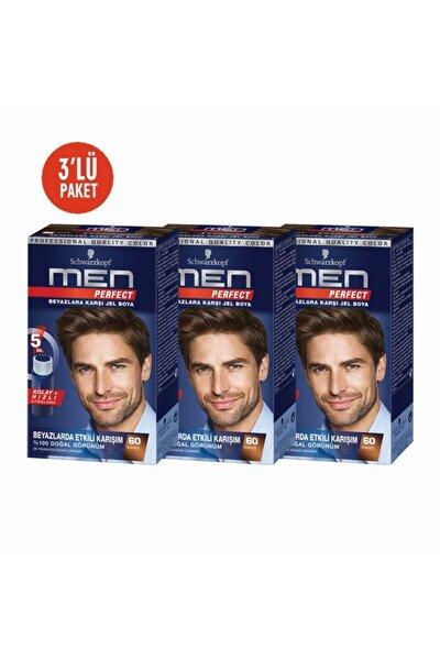 Men 3lü Kahve Pratik Erkek Saç Boyası 60