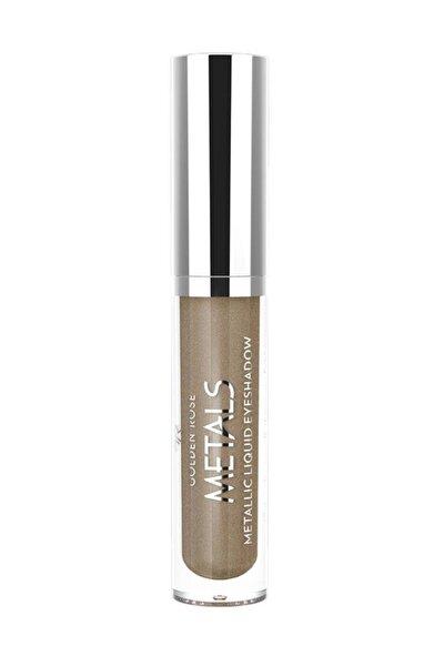 Likit Metalik Göz Farı - Metals Metallic Liquid Eyeshadow No: 107