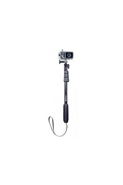 Siyah Selfie Stick Su Altı Çekimleri Monopod