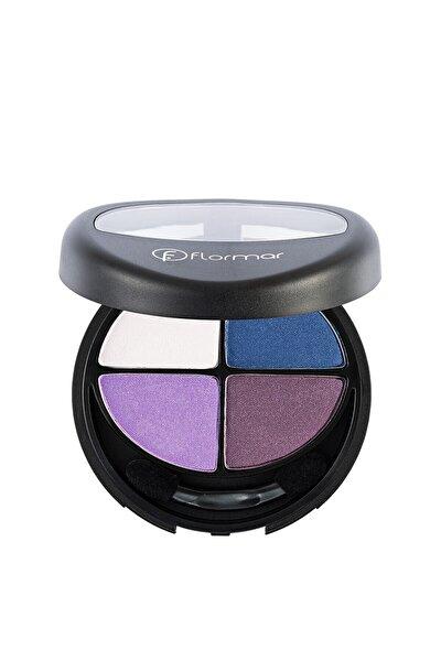 4'lü Göz Farı - Quartet Eyeshadow Purple Look 8690604164165