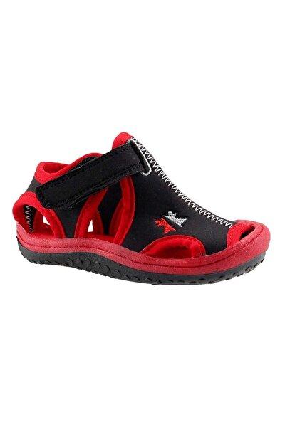 Kırmızı Erkek Bebek Sandalet Ayakkabı