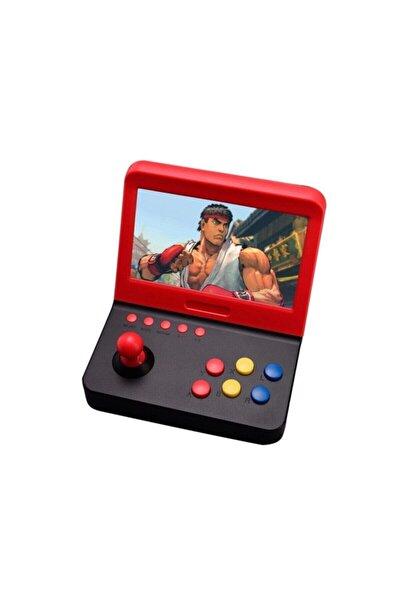 Retro Mini Arcade 3000 Oyunlu 7 inç Ekranlı i 2 Adet Kol Ve Tv Bağlantı Kablosu Atari Oyun Makines