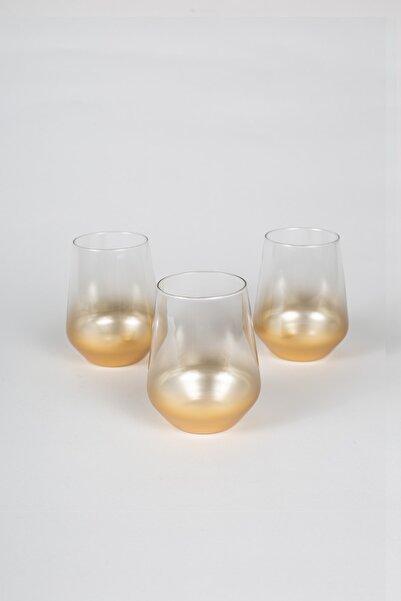 Glow 3'lü Su Bardağı Seti 425 cc