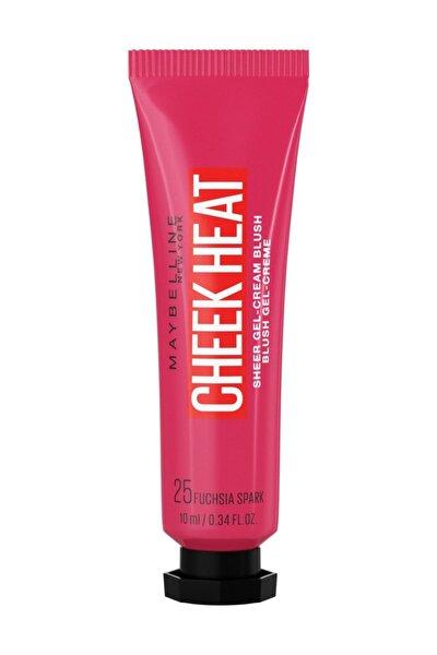 Cheek Heat Likit Allık 25 Fuchsia Spark 3600531591342