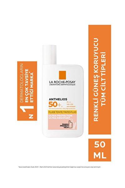 Anthelios invisible Fluid Güneş Kremi Renkli Normal/Karma Ciltler spf50+ Yüksek Koruma 50 ml