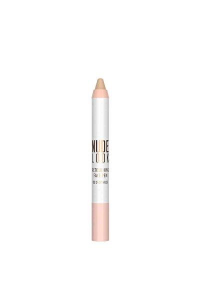 Kapatıcı Kalem - Nude Look Retouching Face Pen No:02 Deep Nude 8691190967185