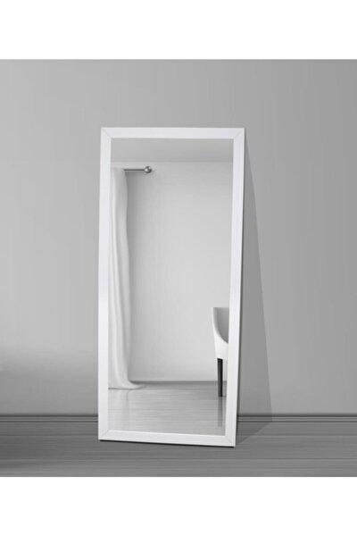 Beyaz Çerçeve Dekoratif Boy Aynası