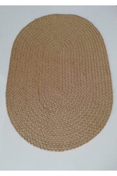 Paspas Saçörgü Jüt Ip 50x70 Cm Oval