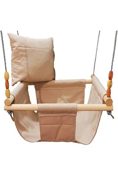 Ahşap Çocuk Salıncak Hamak Beşik Bebek Oyun Park