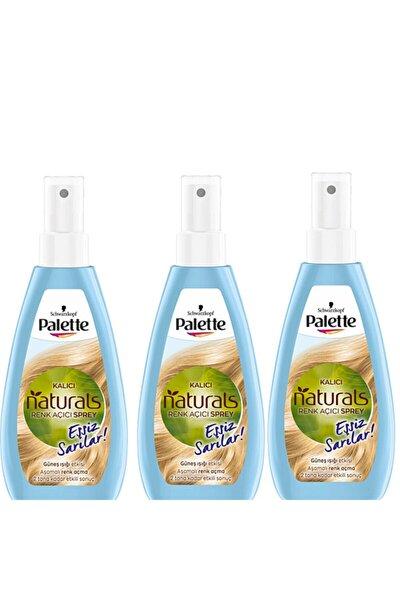 Natural Colors Renk Açıcı Sprey 3 Adet