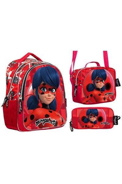 Miraculous Ladybug Okul Çantası Seti -2204