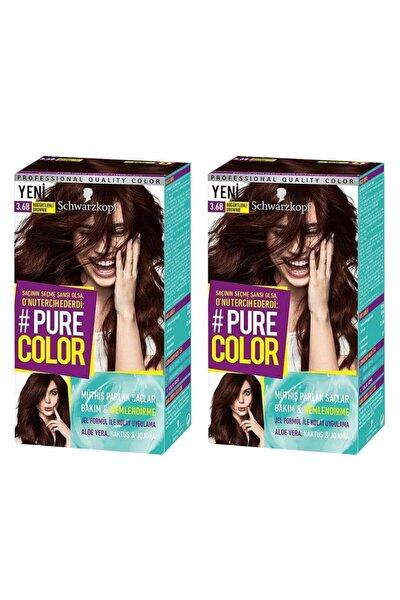 Pure Color 3-68 Böğürtlenli Brownie X2