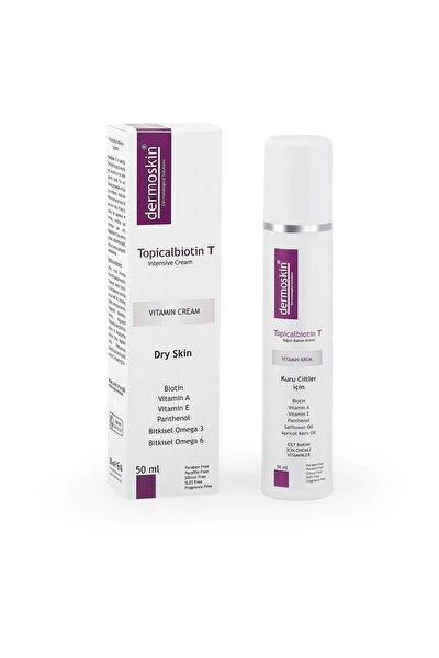 Dermoksin Topicalbiotin T Kuru Ciltler için Bakım Kremi 50 ml