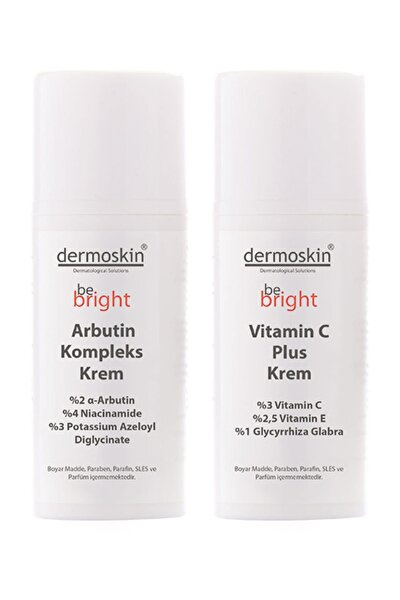 Be Bright Arbutin Kompleks Krem + Be Bright Vitamin C Plus Krem -2'li Avantaj Paket