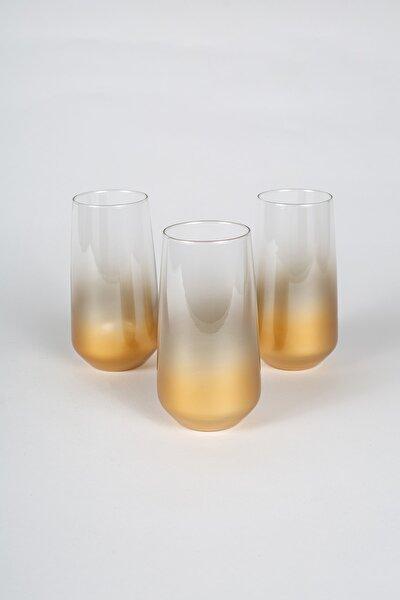 Glow 3'lü Meşrubat Bardağı Seti 470 cc