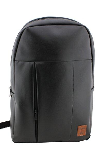 Unisex Siyah Laptop Sırt Çantası
